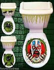 HALLOWEEN TOILET SEAT GRABBER COVER SCARY CLOWN RAT HORROR PARTY DECORATION