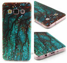 Hot Rubber Painting Patterned TPU Silicone Gel Case Cover For Apple Samsung LG