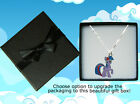 My Little Pony Sterling Silver Necklace With Twilight Sparkle Charm