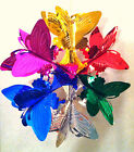 Внешний вид - 3D Dimensional Foil Hanging Butterfly Design for Christmas Holiday Party