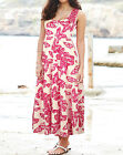 Anthology at Marisota BUTTERFLY Print Tiered Stretch Cotton Dress Sizes 10 to 26