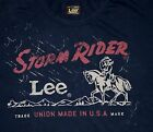 New Lee 101 Storm Rider T-shirt  Made in USA All Men's Sizes Free Shipping  image