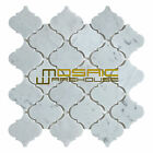 "Marble Mosaic Tile, ""Lantern Collection"" MM 9201 - Carrara White, Polished"