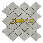 "Marble Mosaic Tile, ""Lantern Collection"" MM 9202 - White Oak, Polished"