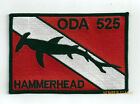 5TH SPECIAL FORCES HAMERHEAD HAT PATCH SHARKMEN US ARMY DIVER SCUBA PIN UP SHARK