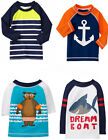 Gymboree 2015 Boy Swim Shop Rash Guard UPF 50+ 12 18-24 2T 3T 4T NWT
