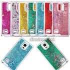 Bling Glitter Stars Flow Sand Quicksand Case Phone Cover for Samsung Note4 N9100