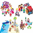 New Kid's Eco Friendly krooom 3d Puzzle Figures 4 Sets to Choose from Age 3 Plus