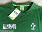 S M L XL XXL 3XL IRELAND RUGBY WORLD CUP 2015 OFFICIAL T SHIRT jersey NEW TAGS