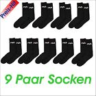 FILA - Tennis Socks Sport Socks socks 9 Pair Savings pack New