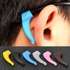 HOT 2Pcs Soft Silicone Ear Grip Holder Eyeglass Glasses Sunglass Anti Slip Hooks