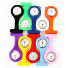 Brand New Silicone Nurse Brooch Pin Fob Tunic Pocket Watch Silicone Case