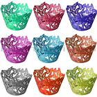 60Pcs Butterfly Vine Cupcake Wrappers Case Wedding Birthday Cake Decoration #FV