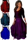 @F7260 SKIRT LAYERED LYCRA COMB LACE ART S M L XL 1X 2X 3X 4X 5X 6X MADE 2 ORDER