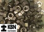 1/4 5/16 3/8 7/16 Bsw Steel Full Nuts For Whitworth Bolts & Screws Qty 5-100