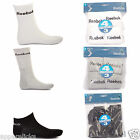 Reebok Men's Sport Sock's Thick For Warmth 4 In a Pack Running Gym Rib on cuff
