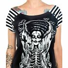 Too Fast  Bolivar Release The Bats Top T-shirt Rockabilly Tattoo Zombie Gothic
