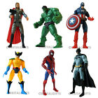 "The Avengers 5"" action figures including Hulk, Thor , Spiderman, Batman"