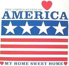 NEW! Mens/Womens Patriotic AMERICA MY HOME SWEET HOME Unisex T-Shirt SIZE S - 3X