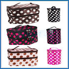 6 CHIOCES Large MAKEUP HAND BAG Toiletry Travel Kit Wash Utility Cosmetic Case