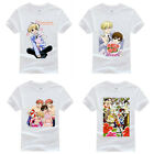 Ouran High School Host Club Pattern White T shirt Unisex Tee Tops