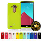 GOOSPERY® Jelly Pearl Ultra Slim Shockproof TPU Bumper Case Cover For LG G4 Case