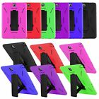 Kyпить Heavy Duty Hybrid Rugged Armor Case Cover for Samsung Galaxy Tab A 8.0