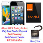 UNLOCK ORANGE FRANCE IPHONE NOT FOUND SERVICE ONLY- 4G 4s 5G 5c 5s