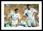England 2003 Rugby World Cup Final Wilkinson & Johnson Photo Memorabilia (355)
