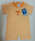 TENNESSEE VOLS VOLUNTEERS ONE PIECE BABY SHORTS OUTFIT TARA COLLECTION ROMPER