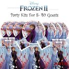 Disney FROZEN 2016 Girls Plates Cups Napkins Tablecover PARTY KITS 8 - 40 Guests