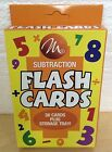 Children Flash Cards - Choose Addition, Subraction, Multiplication or Division!