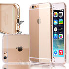 Shockproof Clear Bumper Soft Case Back Cover Protector Skin for IPhone 6 6S Plus