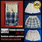 PRO CLUB BOXERS TRUNK SHORT PROCLUB MENS UNDERWEAR BIG AND TALL LOT 2 PACK S-7XL