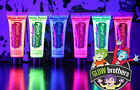 UV GLOW NEON FACE & BODY PAINT - 10ml + FREE GLOW STICK.