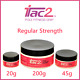 iTac2 Pole Dance Fitness Grip - Regular Strength - 20g 45g 200g Jar Sizes