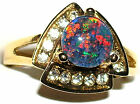 Women's Flashy Australian Opal Ring #168    Bright Colors  11314