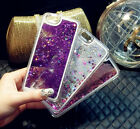 Dynamic Liquid Glitter Stars Quicksand Hard Phone Case For iPhone 5/6/Plus