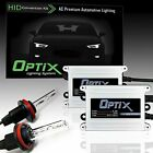 Optix AC Slim 55W HID Xenon Kit Beam Fog Light - H11 / Color / Warranty (Grp W)