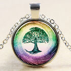 Glass Tile Necklace Tree Necklace Tree Glass Tile Jewelry Tree Jewelry