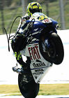 VALENTINO ROSSI 22 (MOTO GP) SIGNED PHOTO PRINT 22