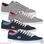 Lacoste Mens ANGHA II III HEC SPM Canvas Low Top Trainers - All Sizes