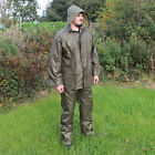 WATERPROOF Olive Green Outdoor Jacket and Trousers Survival SET - All Sizes