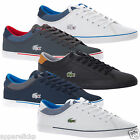 Lacoste Mens ANGHA PT WML WMN CAM Low Top Leather Trainers - All sizes