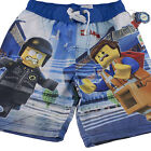 Lego Movie Emmet Swim Trunks Beach Bathing Suit Shorts Boys Size 6 7