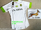 S XL XXL SPRINGBOKS SOUTH AFRICA TEST TIGHT RUGBY SHIRT Canterbury Jersey