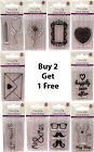Dovecraft polymer clear stamps, various designs, Buy 2 get 1 free