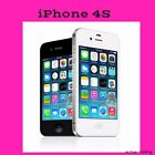 Apple Iphone 4s Gsm Factory Unlocked Black And White Smartphone Cell Phones Ref