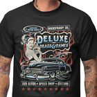 Steady Clothing Men's Drags & Dames T-Shirt Rockabilly Kustom Tattoo Retro