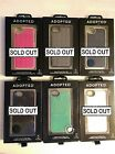 Choice of Color ADOPTED iPhone 5/5s Leather or Cushion Phone Wrap NEW